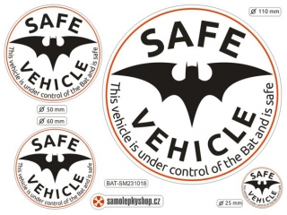 Safe Vehicle Bat set 4 samolepky